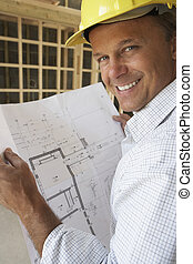 novo, arquiteta, planos, lar