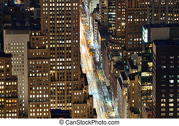 novo, avenida, york, quinto, cidade