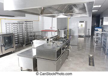 novo, catering, cozinha