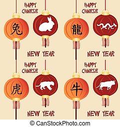 novo, chinês, ano