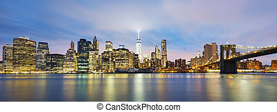 Novo, cidade,  Manhattan,  midtown,  York