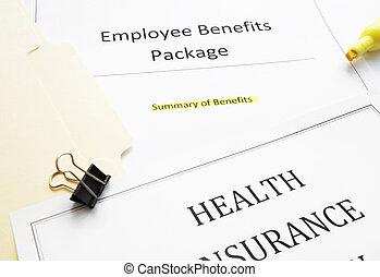 novo empregar, documentos, benefícios
