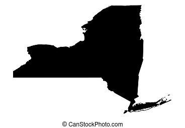 novo, estado, york