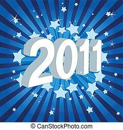 novo, feliz, 2011!, ano