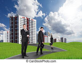 novo, high-rise, edifícios