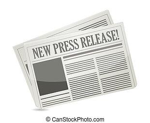 novo, imprensa, liberação