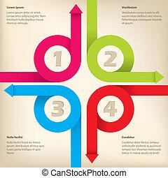novo, infographic, desenho