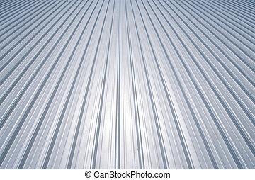 novo, metal, telhado