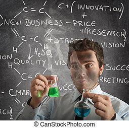 novo negócio, fórmula