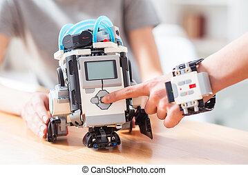 novo, robótica, tecnologias, para, casa