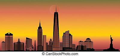 novo, skyline, york