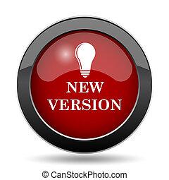 novo, versão, ícone