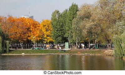 Novodevichy Convent  pond