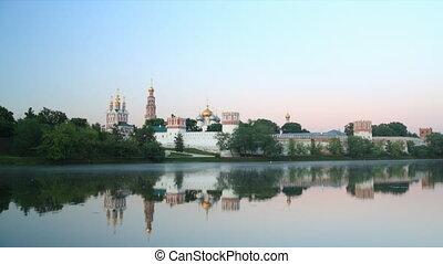 Novodevichy Convent sunrise time la
