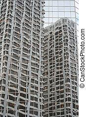 novodobý stavebnictví, abstraktní
