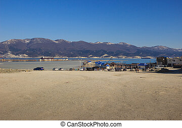 views of the estuary Novorossiysk