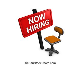 3d image, advertising - now hiring