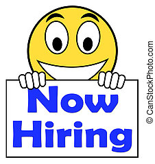Now Hiring On Sign Shows Recruitment Online Hire Jobs