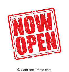 Now open red stamp text