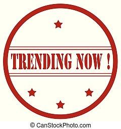 now-stamp, trending