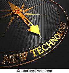 nowa technologia, compass., złoty