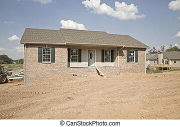 nowe domy, wchodząc
