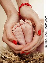 nowo narodzony, feet