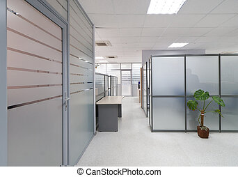nowoczesny, biurowe wnętrze