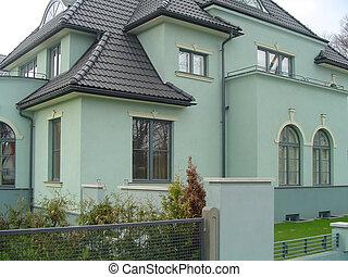 nowoczesny, dom
