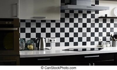 nowoczesny, kuchnia