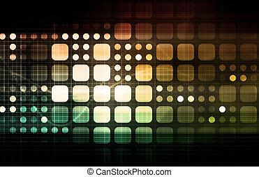 nowoczesny, multimedia