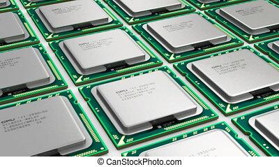 nowoczesny, procesory