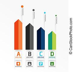 nowoczesny, projektować, minimalny, styl, infographic,...