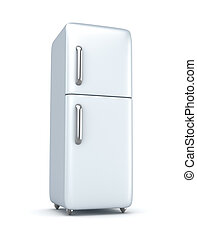 nowoczesny, refrigerator.
