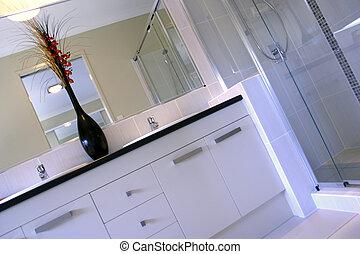 nowy, łazienka, projektować