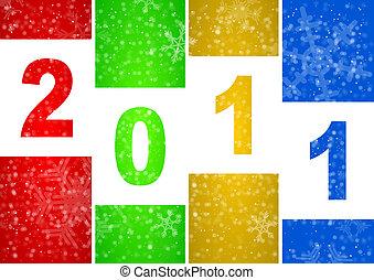 nowy, 2011, ilustracja, rok
