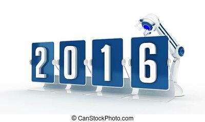nowy, 2017, szczęśliwy, rok
