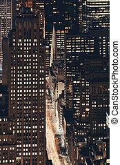 nowy, aleja, york, piąty, miasto
