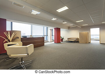nowy, biuro