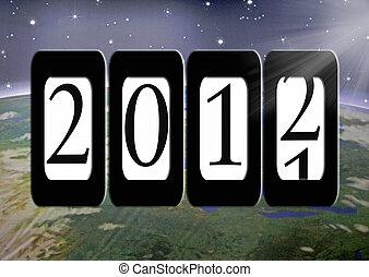 nowy, dni, rok