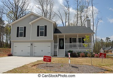 nowy dom, dla sprzedaży