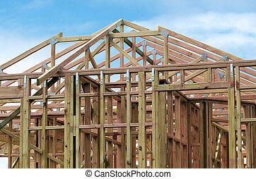 nowy dom, zbudowanie