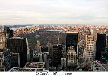 nowy, prospekt, park, główny, york