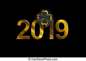 nowy rok, projektować
