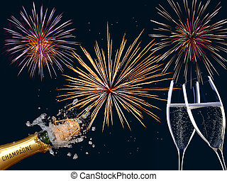 nowy rok, szczęśliwy
