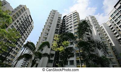 nowy, singapore, rząd, apartamenty