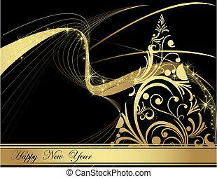 nowy, szczęśliwy, rok