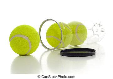 nowy, tenis piłki