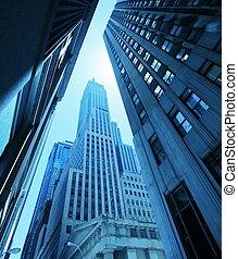 nowy, ulica, york