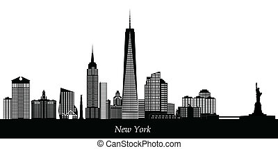 nowy york skyline